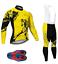 Bibs Set Big /& Tall /& Regular Winter Thermal Fleece Men/'s Cycling Long Sleeve