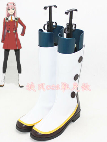 DARLING in the FRANXX Zero Two CODE 002 02 Cosplay Boots Cos Shoes