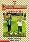 Baby-Sitters Little Sister: Karen's Bunny No. 83 by Ann M. Martin (1997, Paperback)
