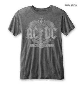 Official-T-shirt-ACDC-AC-DC-Classic-Black-Ice-vieilli-logo-Burnout-Toutes-Tailles