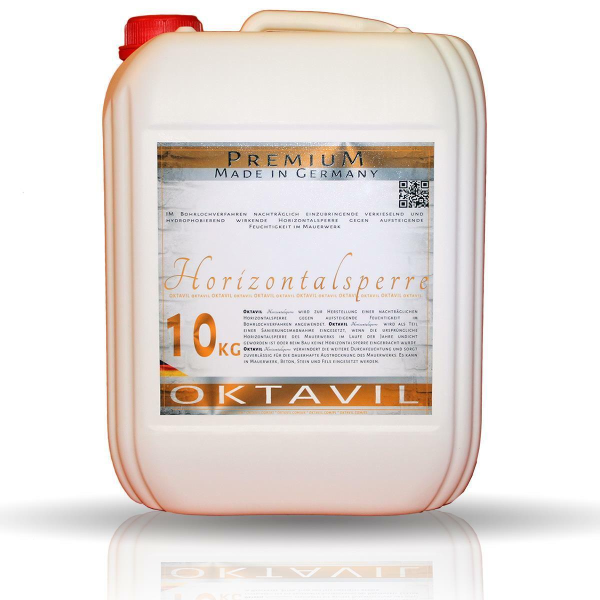 Oktavil Premium Horizontalsperre 80 Kilo Kellerdicht - Made in Germany