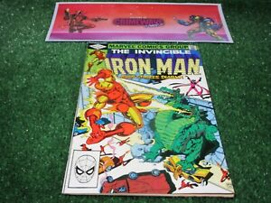 vtg-invincible-Iron-Man-159-Marvel-Comic-book-1st-print