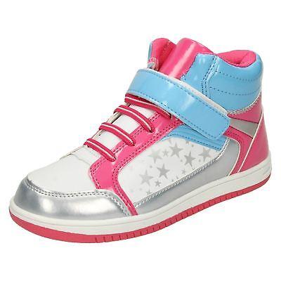 Schuhe Für Mädchen LiebenswüRdig Girls Airtech Lace Up Hi-top 'trainers'