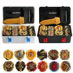 12Pcs-Beyblade-Gold-Burst-Set-Spinning-With-Grip-Launcher-Portable-Box-Case-Gift