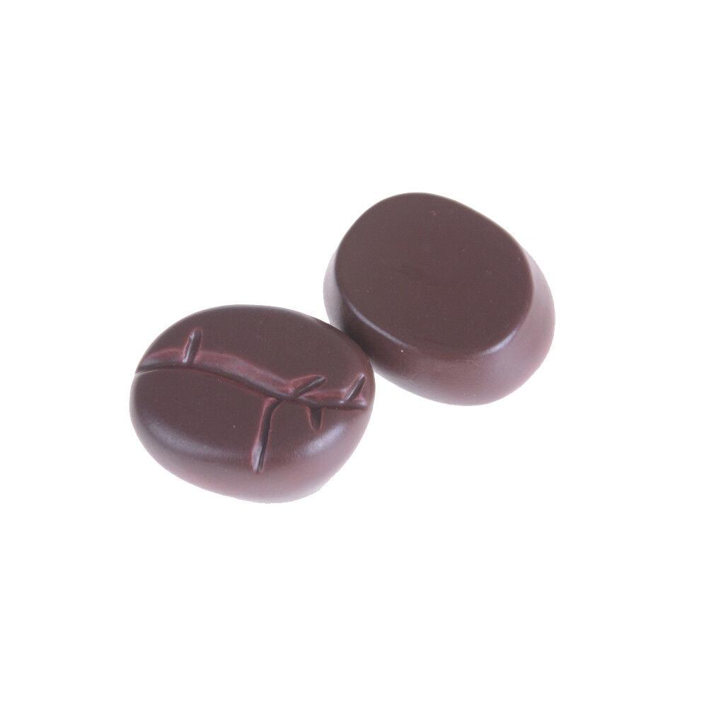 20pc Resin Coffee Beans Simulation Coffee Bean Dollhouse Miniatures Food DecorBE