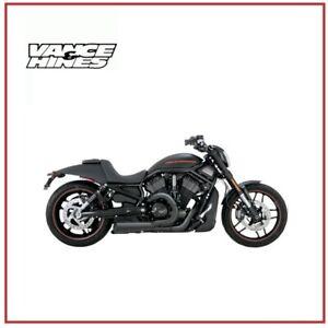 Pot-D-039-Echappement-Competition-2-1-Noir-Sportster-Harley-XL-883-1200-02-17