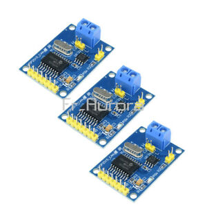 3PCS MCP2515 CAN Bus Module TJA1050 Receiver with SPI Interface for Arduino New