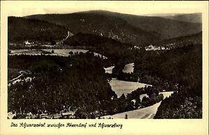 Schwarzatal-Thueringen-DDR-s-w-AK-1953-Totale-zwischen-Sitzendorf-und-Schwarzburg