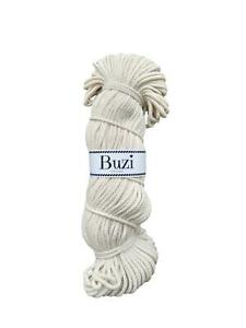 5mm-ECRU-Natural-Recycled-100-Cotton-Cord-Macrame-Yarn-Chunky-String-Rope-100m