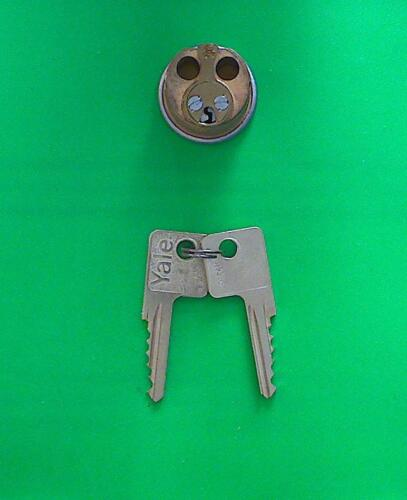YALE LOCK 1152 6-PIN MORTISE ORIGINAL CYLINDERS 26D W//2 KEYS NEW NOS LOT OF 4