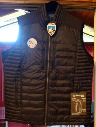 KUHL Black  Spyfire Vest Men/'s Size XL Raven 1129 Coca-Cola Brand New w// Tags