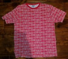 STUSSY Sz XL Streetwear Vintage Made in USA Stussy All over print