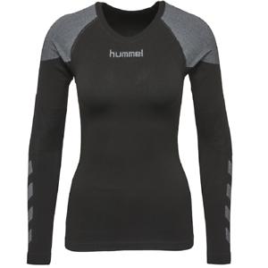 Hummel First Comfort Ls Jersey Chemise Fonctionnelle Compression Noir 0043282001