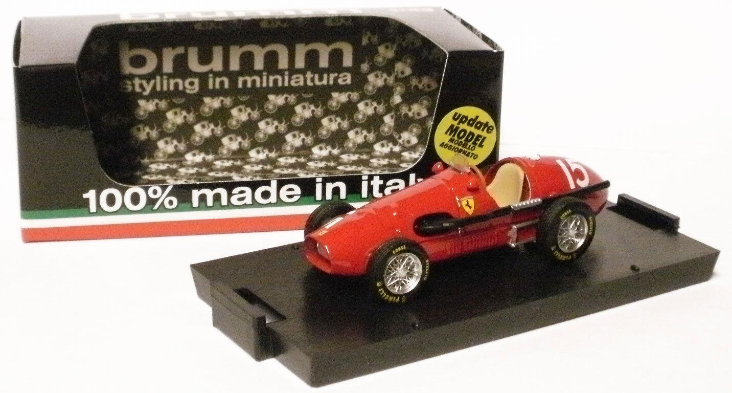 BRUMM R035 FERRARI 500F2 1952-ALBERTO ASCARI champion du monde, échelle 1 43,