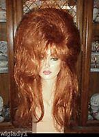 Sin City Wigs Long Voluminous Teased Big Hair Drag Queen Thick Locks Poof Hot