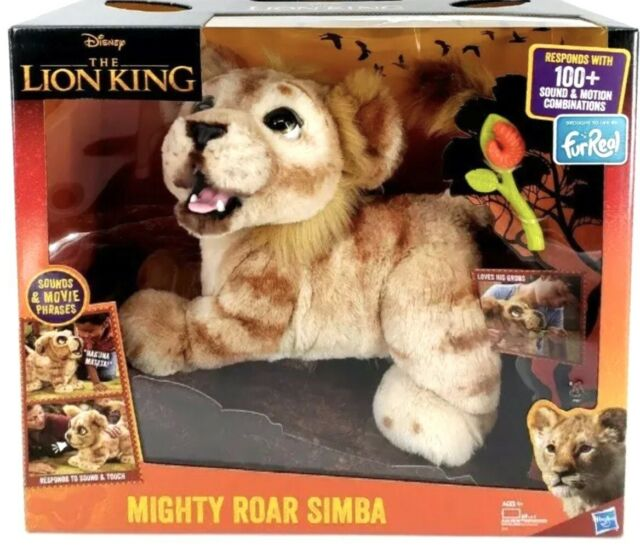 Furreal Mighty Roar Simba From Disney's The Lion King - NEW IN BOX! SHIPS FAST!