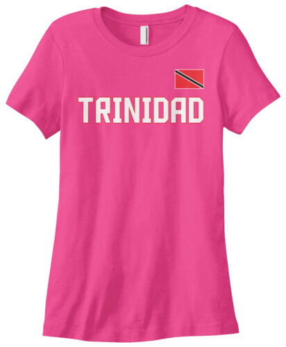 Threadrock Women/'s Trinidad National Team T-shirt trinity flag