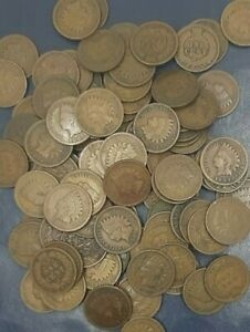LARGE-COLLECTION-INDIAN-HEAD-CENT-PENNY-COINS-1858-1909-10-COINS-EACH-LOT