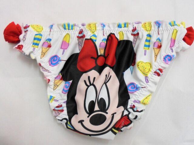 Costumino costume da bagno slip bimba neonato disney baby minnie