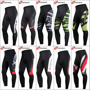 ZeroBike-Men-039-s-Bike-Trousers-Cycling-Wear-Riding-Tights-Breathable-Padded-Pants