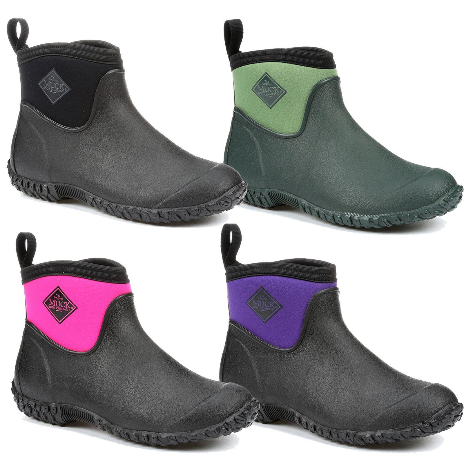 Muckmaster Lightweight Stable Yard Barn Mud Neoprene Ankle Stiefel All Größe