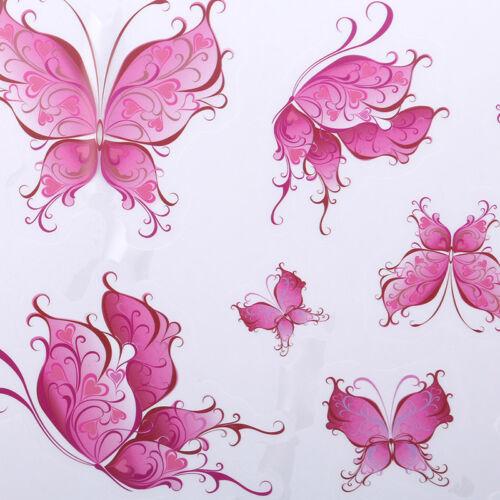 Wall Sticker Butterfly Love Heart Eye Wall Art Decal Children/'s Room Decor S
