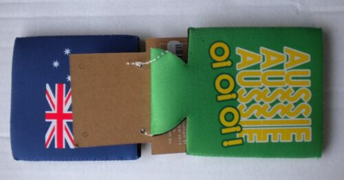 2 x STUBBY HOLDERS AUSTRALIAN SOUVENIR,BRAND:RIVERS NEW WITH TAGS,QUANTITY:2