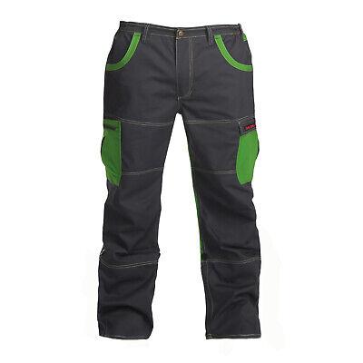 Charlie Barato® Arbeitshose Grau/grün