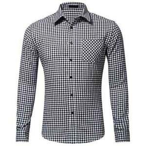 Stylish-Fashion-T-Shirt-Men-Tops-Dress-Shirts-Casual-Luxury-Slim-Fit-Long-Sleeve