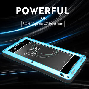 first rate 33ef6 020b1 Details about 100% LOVE MEI Metal Shockproof Waterproof Case Cover for SONY  Xperia XZ Premium
