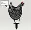 Indexbild 8 - Chicken Yard Art Garden Metal Statue Decor 2021