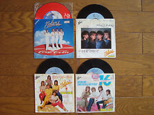 """NOLANS Lot of 4 JAPAN 7"""" Collection incl. COCA COLA PICTURE RECORD"""