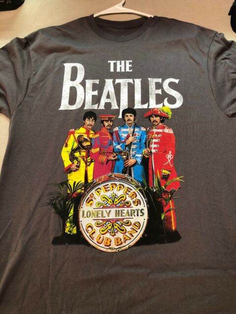 The Beatles Sgt Peppers Lonely Hearts Club Logo Metal Keychain Keyring Official