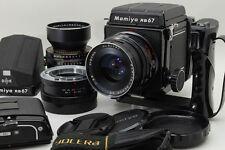 【Exc+++】 Mamiya RB67 Pro Body w/ 90mm f/3.8 Lens w/ 180mm f/4.5 w/ CDS Finder