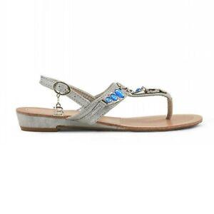 Laura Biagiotti Mujer Sandalias Cuñas Verano Zapatos Chanclas 23665