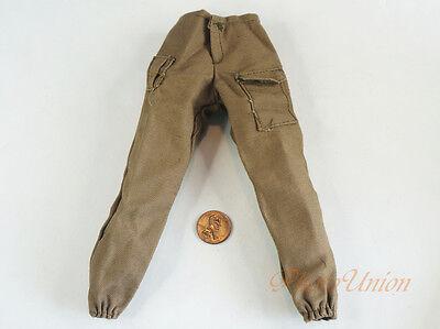 1:6 Figure WW2 US Infantry Army USMC Europe Combat Pants Trousers Uniform DA305