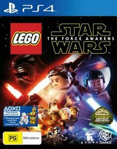 LEGO Star Wars The Force Awakens PS4 Game NEW