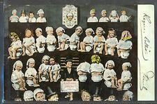 MS157 SURREALISME Bébés MULTIPLES POT de CHAMBRE MULTI BABIES PHOTO MONTAGE pc