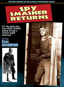 SPY SMASHER RETURNS - KANE RICHMOND- feature version of SERIAL- DVD