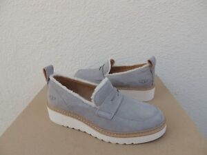 6d024c0bcaf Image is loading UGG-ATWATER-SPILL-SEAM-SEAL-GREY-SUEDE-WEDGE-