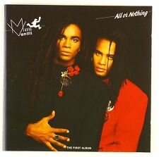 CD - Milli Vanilli - All Or Nothing (The First Album) - A4838