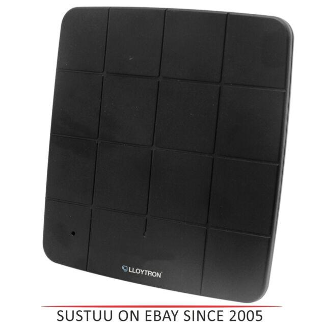 Lloytron A3202BK Active HD Cubierta Digitales Panel Tv Antena con 4G Filtro -