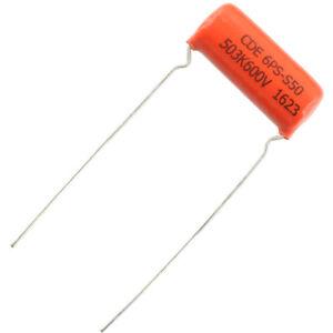 .03µf @ 600VDC Sprague NEW 6PS Orange Drop Capacitor CDE