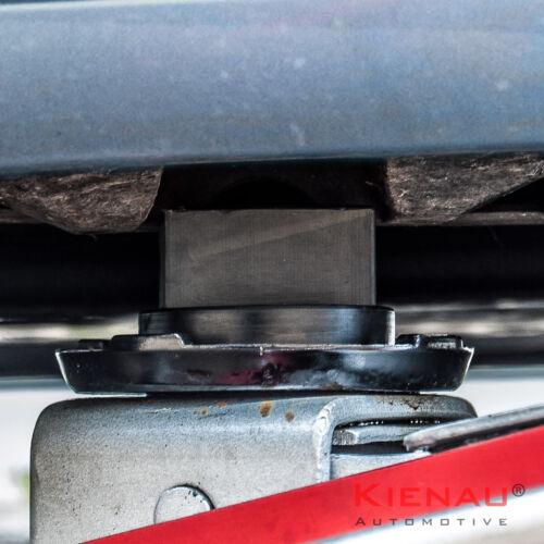 Pneumatici Pressione dell/'Aria revisore Set PONTE SOLLEVATORE AUTO SOLLEVATORE accoglienza Adattatore in gomma per BMW 5
