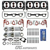 96-99 Gm 3100 3.1l Head Gasket Set + Bolts Kit W/ Upgraded Intake Manifo. Gasket on Sale