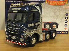 CORGI INTAKE TRANSPORT SHEFFIELD MERCEDES ACTROS TRUCK CAB MODEL CC13830 1:50