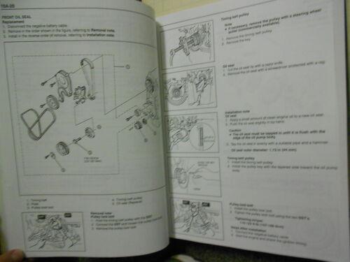 collectivedata.com 1995 KIA Sephia Service Repair Shop Manual Set ...