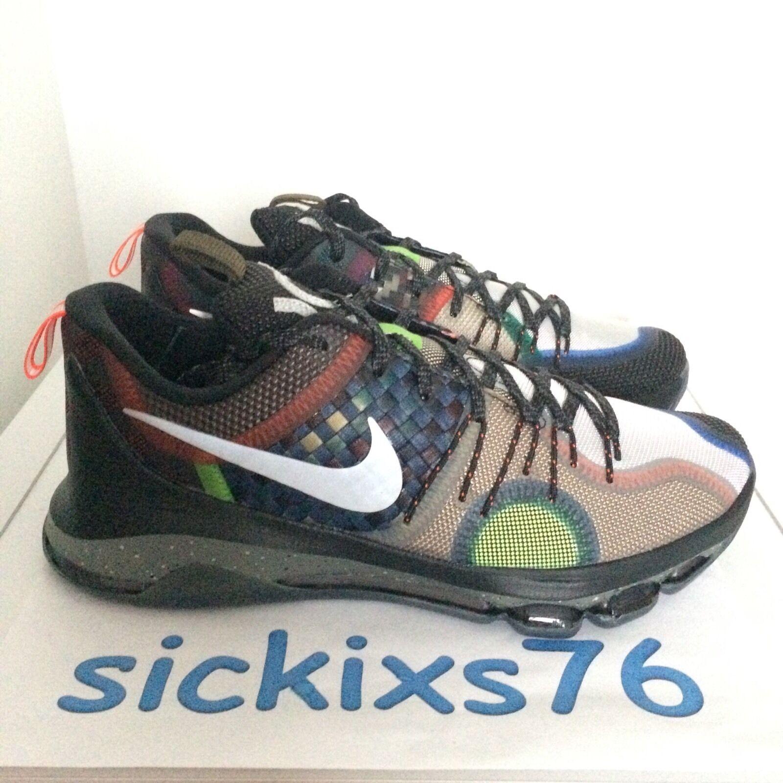 DS Men's Nike KD 8 'What The' Sz 8.5/WMNS 10/[845896 999] VIII