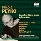 Nikolai Peyko: Complete Piano Music, Vol. 1 (CD, Jun-2014, Toccata Classics)