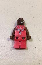 Lego NBA Jalen Rose #5 Minifigure Chicago Bulls 2003 Basketball 3566
